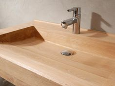 A SINK MADE FROM WOOD | THE STYLE FILES