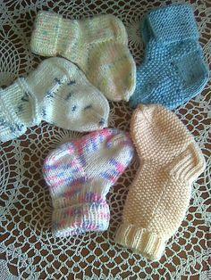 Купить Носочки для самых маленьких - детские носочки, вязаные носочки, ручная вязка, для новорожденных