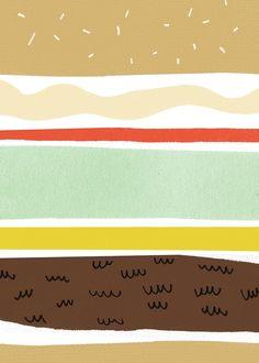Hamburger - wall-being