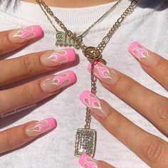 pink nails with glitter accent ; pink nails with rhinestones ; pink nails with glitter Summer Acrylic Nails, Best Acrylic Nails, Summer Nails, Baby Pink Nails Acrylic, Spring Nails, Acrylic Nail Designs For Summer, Painted Acrylic Nails, Acrylic Nail Designs Coffin, Almond Acrylic Nails