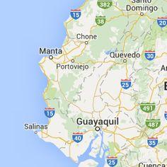 Google Map of Ecuador - Nations Online Project
