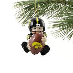 Iowa Hawkeyes Lil  Fan Football Player Acrylic Ornament Nutcracker Ornaments 838e5f804