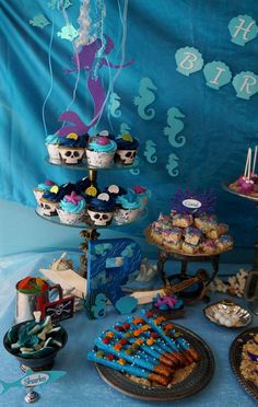Pirates and Mermaids Birthday Party Ideas | Photo 4 of 43 | Catch My Party