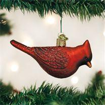 Northern Cardinal Ornament - Old World Christmas