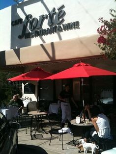 Cafe Forte (Old Town Arts District) ---cozy lunch & dinner----