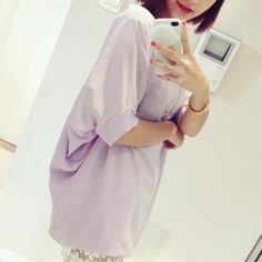 Buy 'Mayi Ayamo – Batwing Elbow-Sleeve Chiffon Top' with Free International Shipping at YesStyle.com. Browse and shop for thousands of Asian fashion items from China and more!