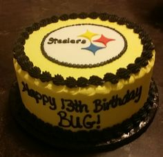 The ultimate Steelers Cake Football NFL 3 MY PITTSBURGH