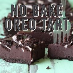 No bake Oreo tart