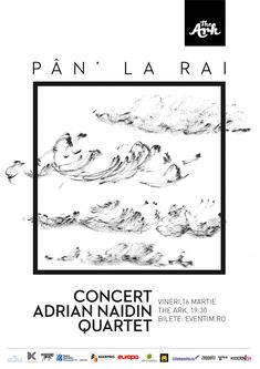 """După o vreme de liniște, The Ark își redeschide porțile. Vineri, 16 martie 2018, Adrian Naidin Quartet va susține concertul """"Pân la rai"""", un experiment acustic inedit, găzduit de The Ark – Depozit de viitor, un spațiu care îmbină tradiția în muzică, design și gastronomie"""