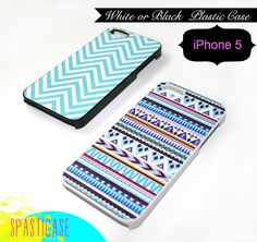 Tiffany Blue Chevron iPhone Case for iPhone 5  Aqua by SpastiCase, $16.00