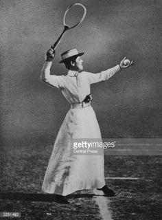 Muriel Robb (GBR) - 1902 Wimbledon