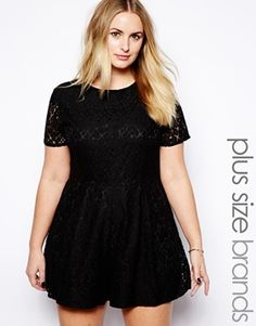 Image 1 ofTruly You Lace Playsuit