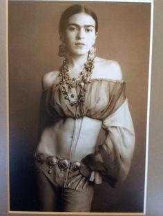 Frieda Kahlo… dear God….