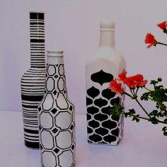 Sharpie vase art!