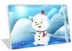 'Snowbaby on Sparkling Ice' Laptop Skin by We ~ Ivy Presents For Friends, My Themes, Website Themes, Good Cause, Macbook Air 13, Sparkling Ice, Ipod Touch, Ipad Case, Tech Accessories