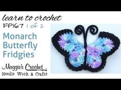 18 Crochet Butterfly Free Patterns