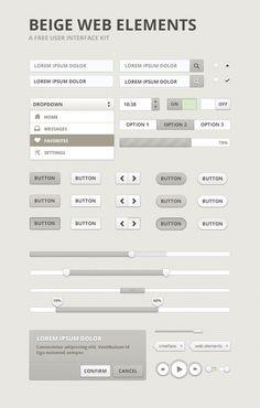Beige - Free Web UI