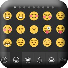 FREE Download Emoji Keyboard and share your feeling with your friends through social groups and SMS.  https://play.google.com/store/apps/details?id=com.colortheme.emojikeyboard