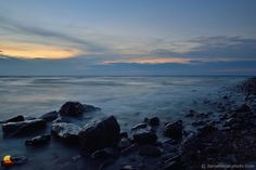 Lake Erie on the Rocks after Sunset: I know, I have been on a roll with the Lake Erie shore lately. I hope I am not boring you yet as I am sure there will be more to come. While I love searching for new places for variety and new challenges I also love going back, and I mentioned it on these pages quite a few times ... #etbtsy #lakeerie #rockyshore #landscapephotography #wny