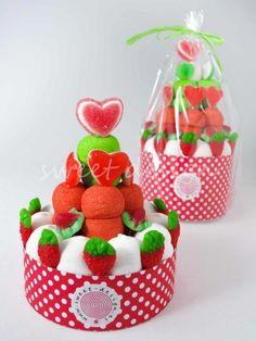 Tartita Roja y Verde | Sweet Design