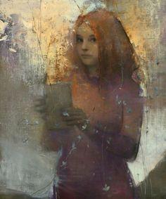 Figurative and Oil Portrait Paintings by Stanka Kordic - Saks Gallery - Denver