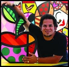 romero britto - romero britto -   Mark Swiiter Modern Art ARTE BRASILEIRA - ART BRAZIL http://viajerosbrasilperublognoticias.blogspot.com.br/