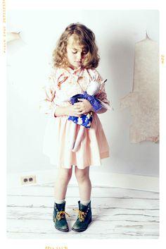 Ciel Wild. Meadow Doe. The Wild x Dear by Fleur + Dot. Handmade childhoods. Waldorf Inspired Dolls.