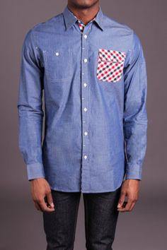 Goodale Workwear Chambray Shirt