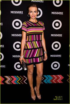 """Camilla Belle wearing Missoni at the """"Missoni for Traget"""" Launch party sept 7th 2011....."""