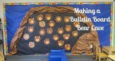 30 Great Ideas for a Camping Classroom Theme - WeAreTeachers Bear Bulletin Board Ideas, Camping Bulletin Boards, Toddler Bulletin Boards, Birthday Bulletin Boards, Classroom Bulletin Boards, Birthday Board, Birthday Nails, Preschool Open Houses, Bears Preschool