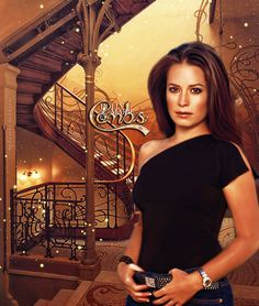 Piper Halliwell by Inga Kasicka Fantasy Tv Series, Alicia Witt, Victor Webster, Charmed Sisters, Charmed Tv Show, Ghost Whisperer, Colorful Skulls, Holly Marie Combs, Shannen Doherty