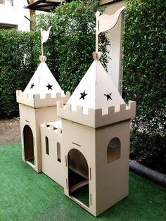 Pappe Playhouse Magic Castle von Wonderworldplayhouse auf Etsy