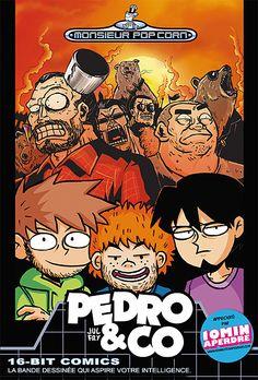 Cover of Pedro & Co - Jul et Fry Monsieur Pop Corn