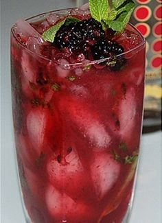 Blackberry Mojito #desserts #dessertrecipes #yummy #delicious #food #sweet