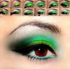 How To Wear Bold And Colorful Makeup