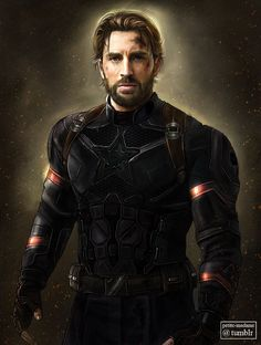 Steve Rogers (Infinity War) - 2017 My take on Steve in Infinity War. Of course, it's not the exact suit because the only reference pictures I had were a couple of concept art posted by Ryan Meinerding...