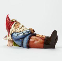 Sleeping Gnome Jim Shore Heartwood Creek