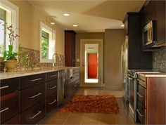 Cozy Contemporary Kitchen by Scott Neste