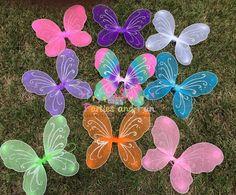 Purple Fairy Wings Fairy Party Favors Purple by partiesandfun