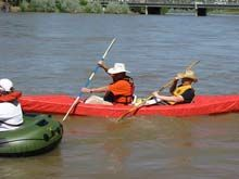 Duckworks - Two Seat PVC and Duct Tape Kayak