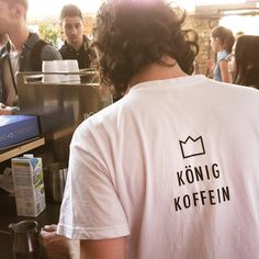 Better get a crown on your back. Otherwise you ain't brew for the king. Barista's tool for every shot. Crown your cup and you will get endless event love from all the people out there on the fairs.