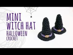 Tutorial Mini Witch Hat for Halloween