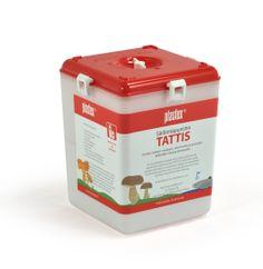 Säilöntäpuristin Tattis. Container for preserving food. Made in Finland.