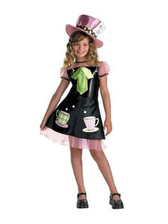 Halloween Mad Hatter Costume for Child