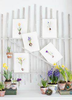 Craftberry Bush | Spring Bloom Free Watercolor Printable | http://www.craftberrybush.com