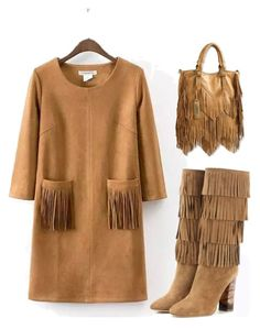 """""""Fringe fringe fringe"""" by im-karla-with-a-k ❤ liked on Polyvore featuring Burberry"""