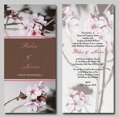 78 Best Wedding Invitations Images On Pinterest Cherry Blossom