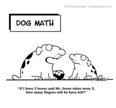 Cartoons for every occasion - Math cartoons make a great opener for presentations and, naturally, math lessons!