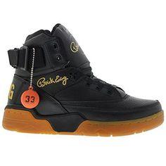 7ca73b8d58 Ewing Athletics Concept 33 HI Black Gum Gold Limited release Mens Ref  1EW90124-046 Ewing