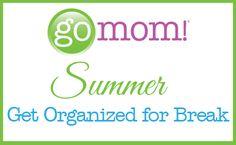 Get Organized for Summer {Schedules} - GO MOM!